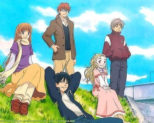 Honey & Clover de Umino Chika