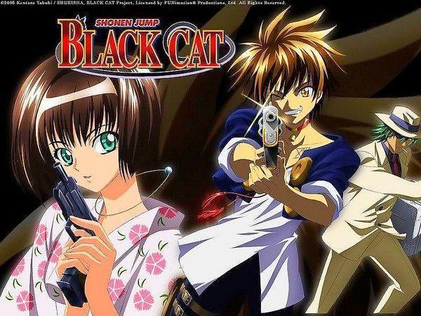 Black Cat de Yabuki Kentaro